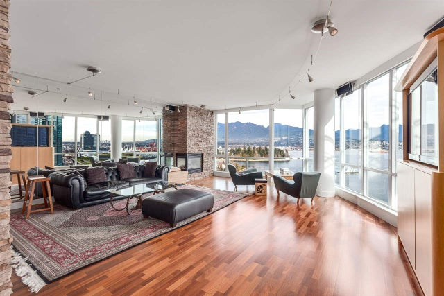 2102 323 JERVIS STREET - Coal Harbour Apartment/Condo for sale, 3 Bedrooms (R2018937) #2