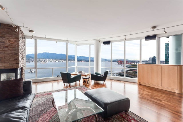 2102 323 JERVIS STREET - Coal Harbour Apartment/Condo for sale, 3 Bedrooms (R2018937) #3